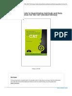 The Pearson Guide to Quantitative Aptitude