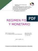 Regimen Fiscal Venezolano