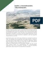 La Verdad Sobre El Bajo Piura - Carlo Bertini y el Gobierno Regional