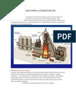 Tipos de Hornos Para La Fundicion de Metales