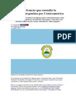 El Corsario Francés Que Extendió La Bandera Argentina Por Centroamérica