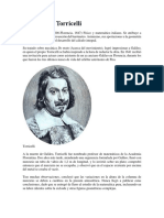 Biografia Daniel Bernoulli y Evangelista Torricelli