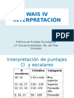 P4 WAIS IV Interpretación