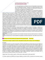 Revista de La Sociedad Espanola de Biologia Evolutiva