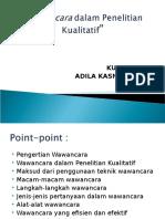 pertemuan 5 PK Adila (Wawancara).ppt