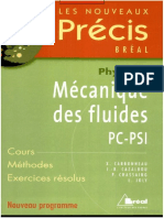 Prcis Mcanique Des Fluides PSI