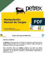 Manipulación Manual de Cargas (WI PTX HSE 014 S)