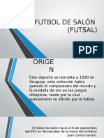 Futbol de Salón