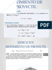 Movimiento Proyectil 2