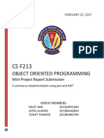 OOP Project Report Submission