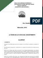Clases Obligaciones II Unidad i Tema 3 Teoria de Los Vicios