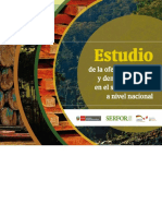 Estudio de La Oferta Educativa y Demanda Laboral en El Sector Forestal