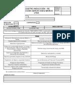 Formatos  para Inducir a los nuevos trabajadores.xls