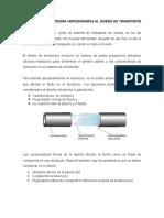Aplicación de La Teoria Hidrodinamica Al Diseño de Transporte Por Oleoducto