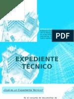 EXPEDIENTE TÉCNICO