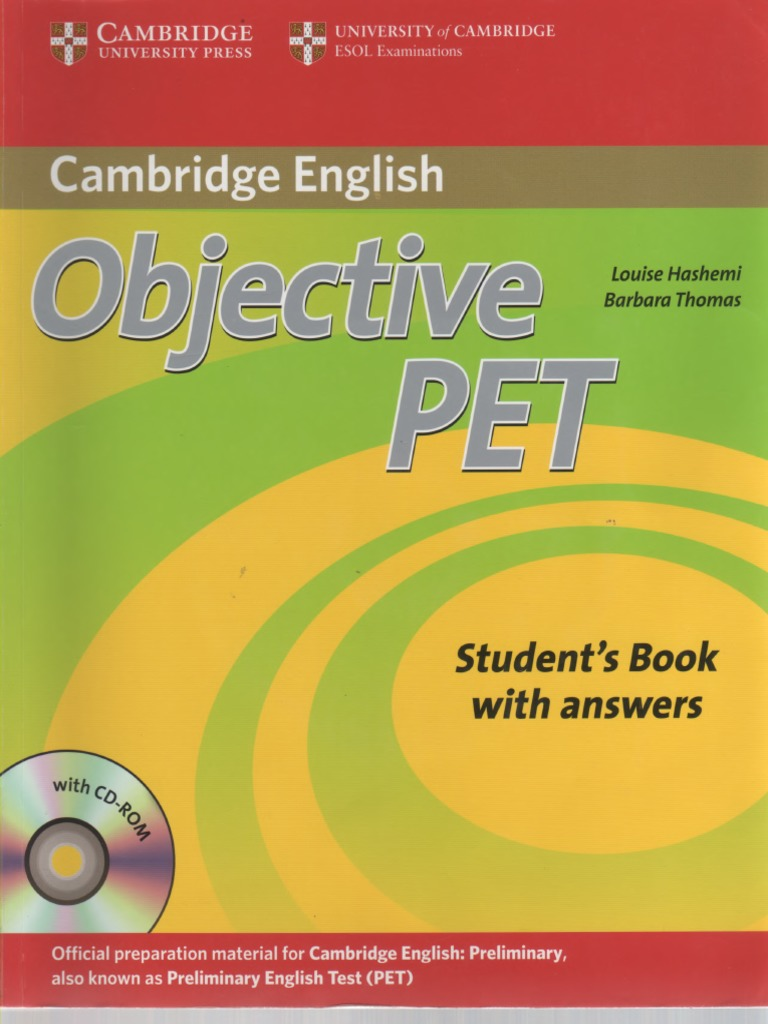 Complete Pet Students Book