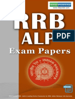 Download RRB Assistant Loco Pilot ALP Exam Papers