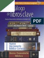 Catálogo de libros Clave de teologia América Latina