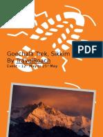 Goechala Trek