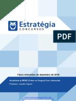 PDF 193906 Aula Extra LIMPAkcurso 24141 Fatos Relevantes de Dezembro de 2016 v1