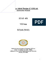 CAD Lab ETAT 451_Lab Manual_FInal