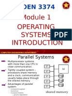 COEN 3374 - Module 1 - Operating System Introduction Part 2