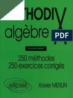 MethodiX algebre