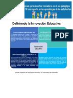 1. Definiendo La Innovación Educativa