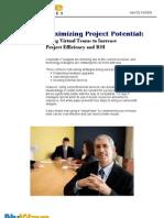 Maximizing Project Potential