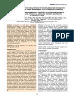 decontaminarea produselor horticole cu UV-C
