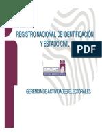 Registro Nacional de Identificacion y Estado Civil