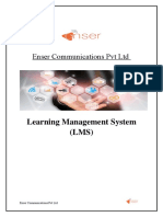 Enser Communications Pvt Ltd LMS