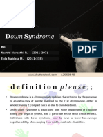SP - Down Syndrome