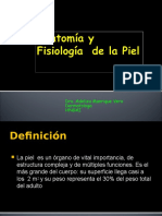 Anatomía y Fisiología de La Piel 2014