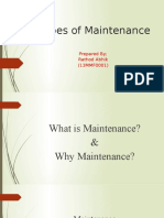 Maintenance Types