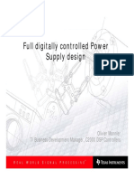 Full Digitally Controlled Power Supply Design
