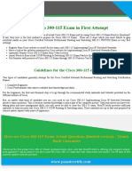300-115 Implementing Cisco IP Switched Networks Exam Dumps PDF