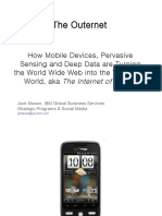 From Mobile Web to Outernet
