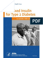 Insulin for Type 2 Diabetes Consumer Guide