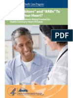 ACEIs and ARBS for Treatment of Heart Disease Consumer Guide