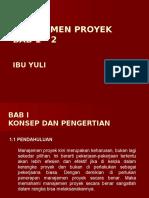 (1-2)Bu Yuli_manajemen Proyek Bab 1-2k