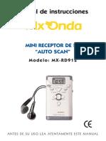 Mxonda Mx Rd912