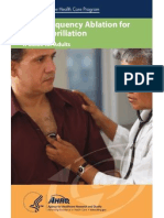 Radiofrequency Ablation for Atrial Fibrillation Consumer Guide