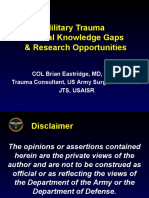 2. Military Trauma Research Gaps Final