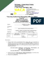 Registration Form AMO Seminar March 24 & 25, 2017