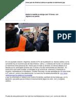 Argentina Se Convierte en El Primer Pais de America Latina en Aprobar El Matrimonio Gay