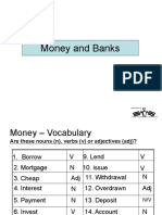 Money and Banks PPT presentation for Teachers