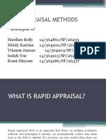 Rapid Appraisal Methods-1