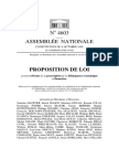 Proposition de loi portant réforme de la prescription de la délinquance économique et financière