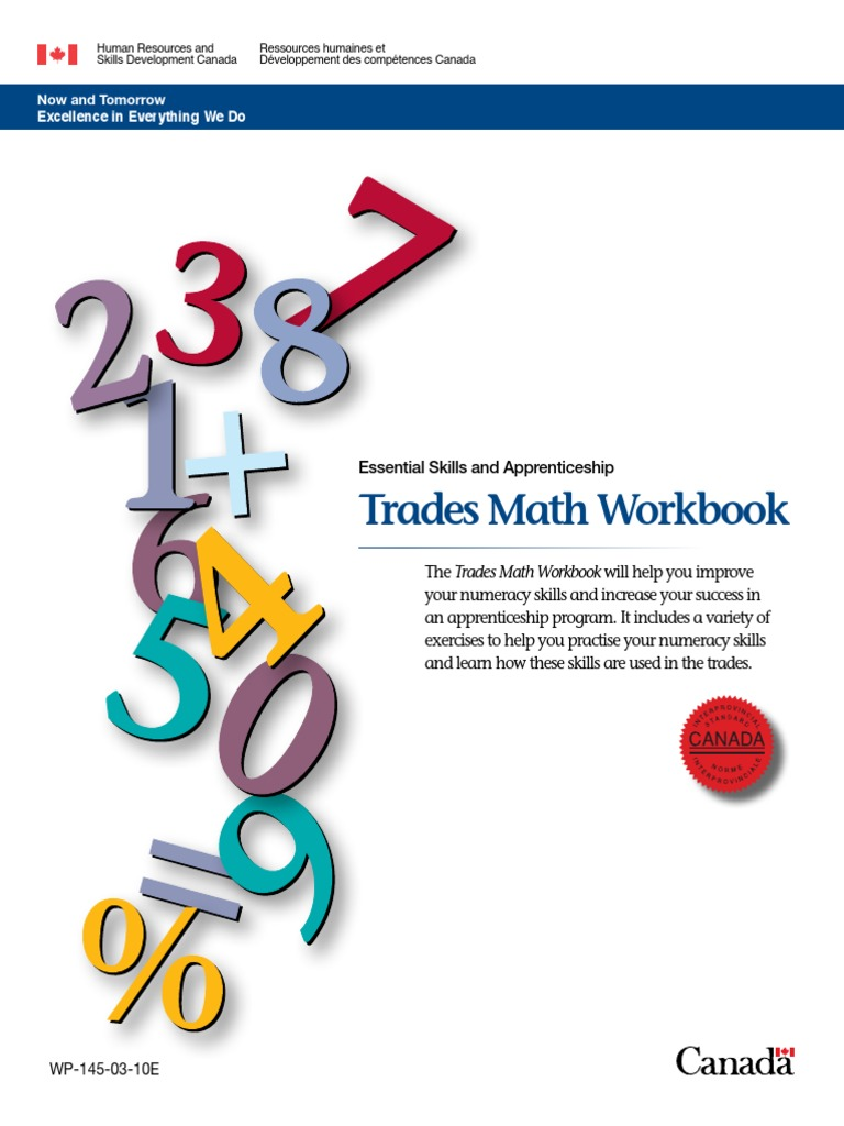 math 11 apprenticeship and workplace answers
